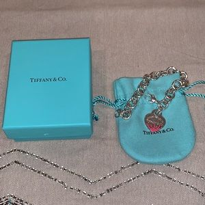 Tiffany | Color Splash Heart Tag Bracelet